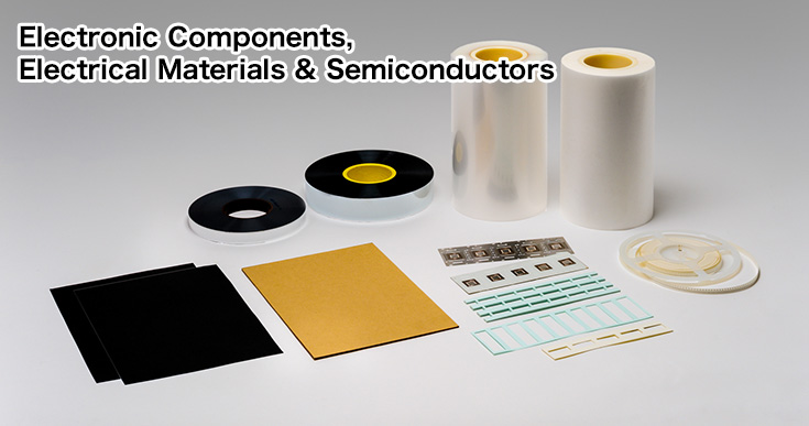 Electronic Components, Electrical Materials & Semiconductors